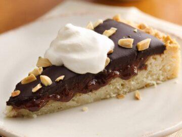 Cherry Macaroon Torte